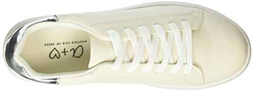 Another Pair of Shoes Tiae1, Baskets Basses Femme Blanc Cassé (Off White05)