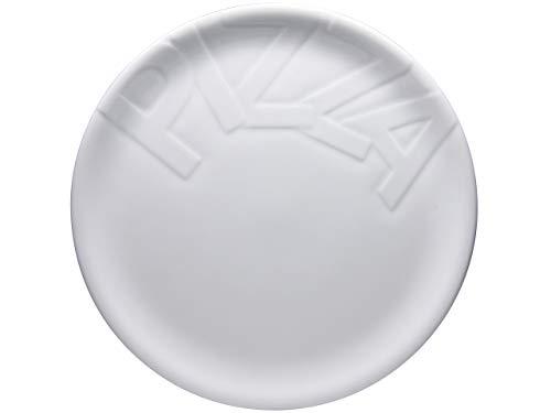 Creatable 16581, Serie Gourmet, 32cm 4tlg Pizzateller, Porzellan, weiß, 34.5 x 34 x 8 cm, 4-Einheiten