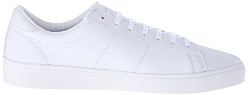 Fred Perry Herren Spencer Leather Oxfords, Grau Weiß (White)
