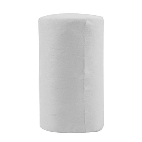 HoganeyVan Baby Flushable Biodegradable Disposable Cloth Nappy Diaper Bamboo Liners 100 Sheets for 1 Roll 18cmx30cm