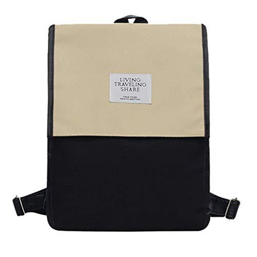 Ledertasche, Schultertasche, Geschenk, Handgefertigte Tasche,Damenmode Rucksack große Kapazität Computer Tasche Student Umhängetasche ()