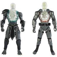 Mortal Kombat X-Ray 6 pulgadas figura de acción de devastación interna Reptile Jax 2 Figuras Action Pack