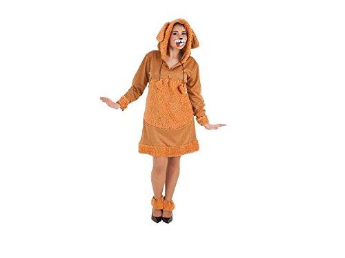 Für Erwachsene Hündchen Kostüm - CREACIONES LLOPIS Erwachsene Kostüm Kreationen Llopis Hündchen Mimosa, mehrfarbig (4855-m)