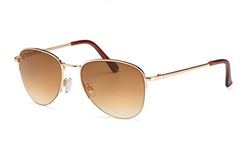 Filtral Fliegerbrille | Unisex Pilotenbrille für Damen und Herren mit Verlaufstönung | Speziell...