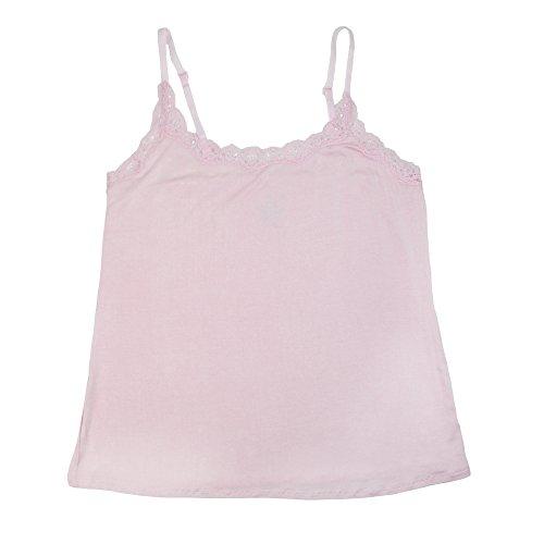 Rene Rofe - Haut de pyjama - Uni - Femme taille unique Parfait Pink