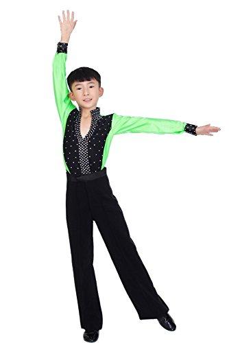 KINDOYO Jungen Klassiker Latein Tanz Kostüme Kinder Jazz -