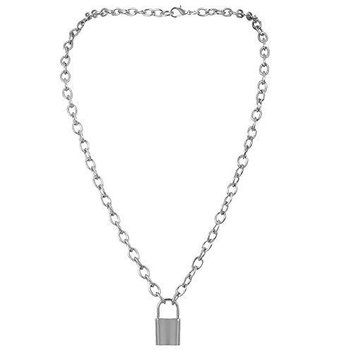 Schloss Halskette Y-Anhänger Einfache Nette Halsketten-Langkettige Art- Und Schmucksachen Für Frauen - Für Anhänger Schloss