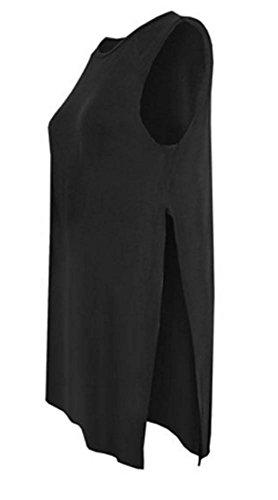 Unogal Clothing - Canotta -  donna Nero