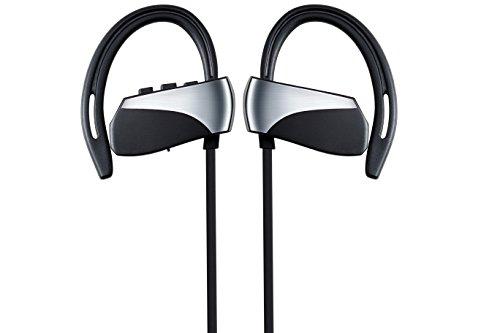 Cuffie Auricolari sportivi wireless con microfono IPX5 Impermeabile HD  Stereo Sweatproof In Ear per palestra Allenamento af5a5b86172d