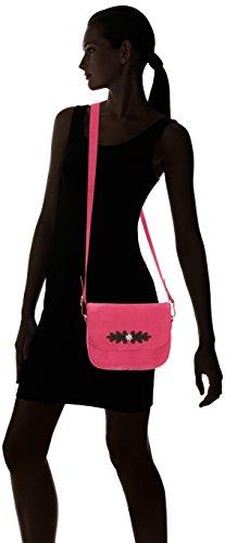 Diavolezza - Borsa donna Rosa (Pink/Brown)