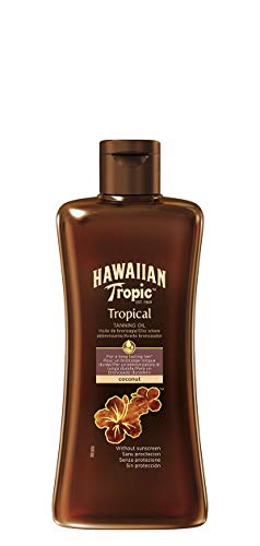 Hawaiian Tropic Tropical Tanning Oil Sonnenöl ohne LSF, 200 ml, 1 St -