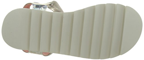 Desigual Golden White la, Sandales Bride Arriere Fille Argent (Silver 2032)