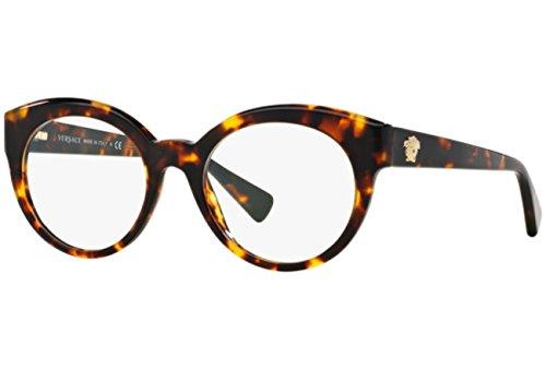Versace Für Frau 3217 Tortoise Kunststoffgestell Brillen, 51mm