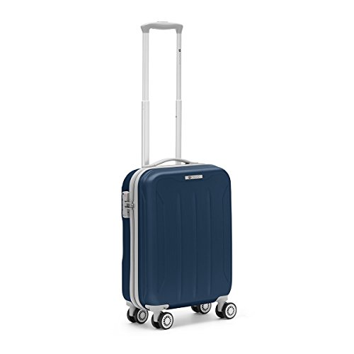 R Roncato Flight 4R Trolley Cabina Trolley, 55 cm, Blu Navy