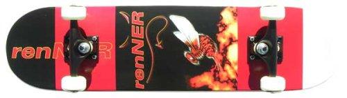 endon-lighting-renner-une-serie-3-devil-noir-rouge-skateboard-75-