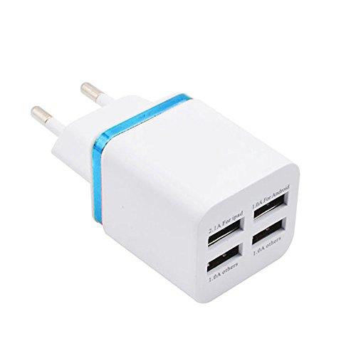 Xshuai MUJU 618 5V 3.4A EU-Stecker USB-Netzteil 2 USB-Anschlüsse für Telefontabletten tabletten zu Hause Reise ac ladegerät Adapter (BU) Gps-adapter Home Wand -