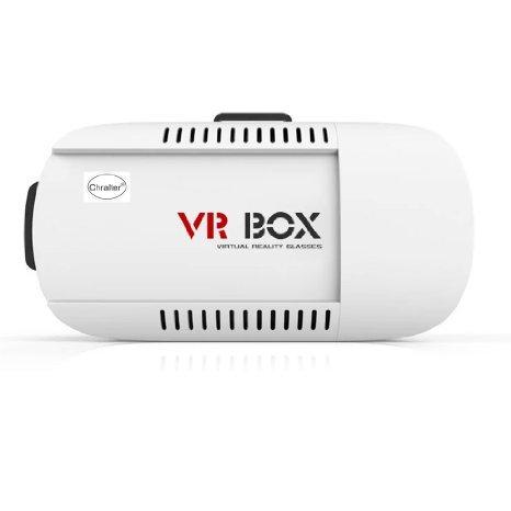 Preisvergleich Produktbild Plastic Version Google Cardboard Adjust Cardboard 3D VR Virtual Reality Headset 3D Glasses Adjust Cardboard VR BOX Virtual Reality 3D Glasses For iPhone 6 Samsung 4.7~6in