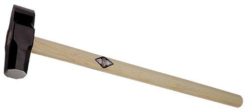 Stabiler Steinspalthammer - gewölbte Bahn - 5kg