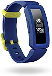 Fitbit Ace 2 Activity Tracker For Kids, Night Sky/Neon Yellow, FB414BKBU