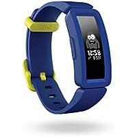 Fitbit Ace 2, Activity Tracker Unisex Bambino, Blu Notte/Giallo Neon, Taglia unica