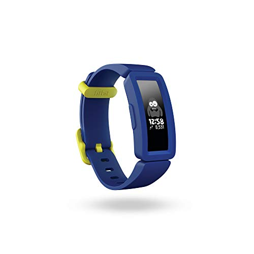 Fitbit Ace 2, Activity Tracker Unisex Adulto, Blu Notte/Giallo Neon,...