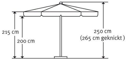 Schneider Sonnenschirm ORLANDO 270cm