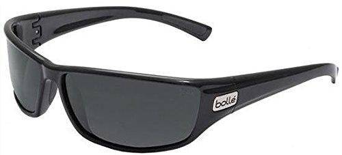 Bollé - Bollé PYTHON, Sportbrille, Nylon, Herrenbrillen, SHINY BLACK/POLARIZED TNS OLEO AF(11328), 67/15/130
