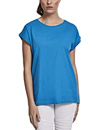 Urban Classics ErwachsenDamen Ladies Extended Shoulder Tee T-Shirt, hawaiianblue, XL