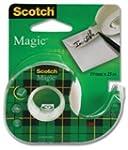 3M Scotch Magic Tape Dispensered Roll...