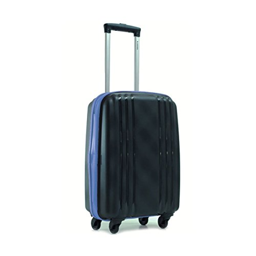 Valise ultra résistante cadenas TSA MINKA 53 cm Noir-Bleu garantie 2 ans