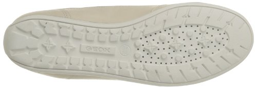 Geox D New Moena C, Sneaker Donna Beige
