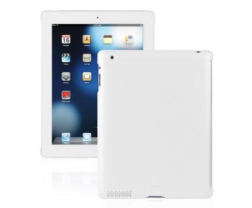 Moshi 99MO049101 Moshi iGlaze Hard Case für Apple iPad 2 weiß