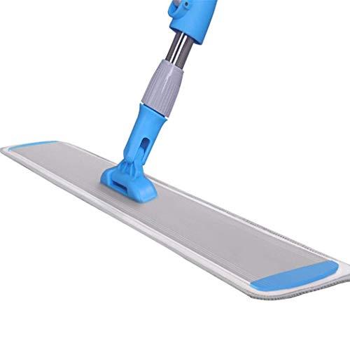 YIIY Microfaser Flip Mop Reiniger Kehrmaschine Holz Laminat Fliesen Boden Nass Trocken (Trocken Mops Für Holzböden)
