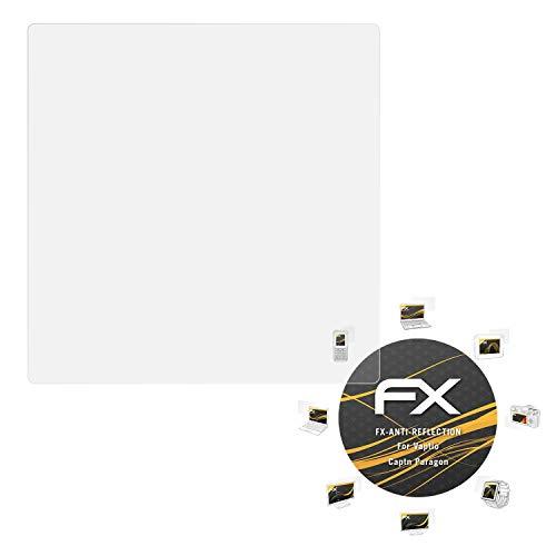 Preisvergleich Produktbild atFoliX Panzerfolie kompatibel mit Vaptio Captn Paragon Schutzfolie,  entspiegelnde und stoßdämpfende FX Folie (2X)