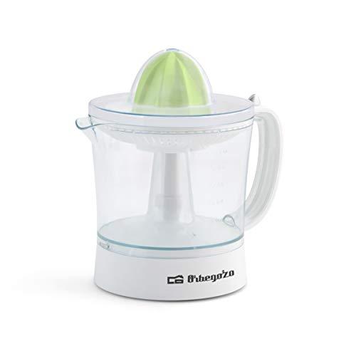 Orbegozo EP 2210 - Exprimidor zumo eléctrico de naranjas, depósito extraible de 1 litro de capacidad...