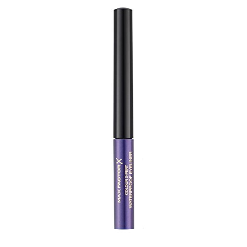Max Factor Colour X-Pert Waterproof Eyeliner 03 Metallic Lilac, 1er Pack (1 x 2 ml)