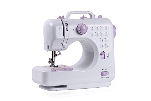 Prixton macchina da cucire elettrica portatile professionale con 12 modelli di punti macchina cucire manuale per principianti P110