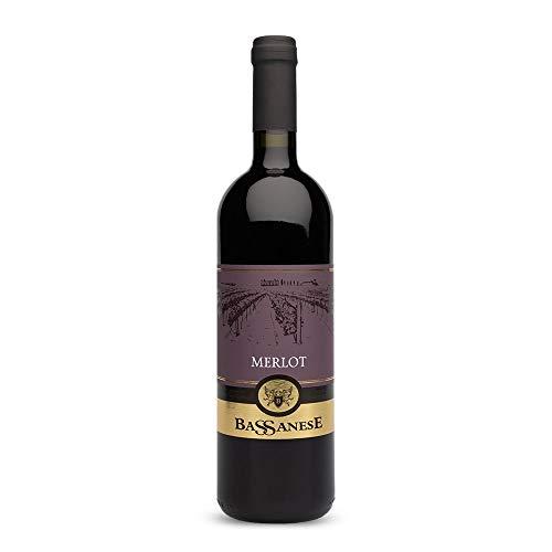 Merlot IGT Veneto - Vino Rosso - 75 cl - Bassanese Vini