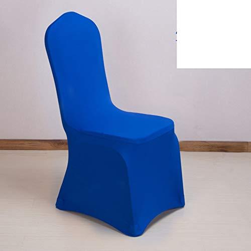 Sishe Stuhl Silpcover Verdickung elastischer Stuhlbezug Bankett Konferenz Sitzlehnenbezug Hotel Festival Stuhlbezug-M by (Farbe : G)