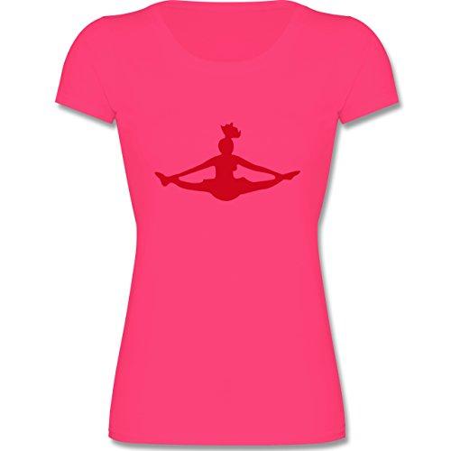 Sport Kind - Cheerleading - 140 (9-11 Jahre) - Fuchsia - F288K - Mädchen T-Shirt