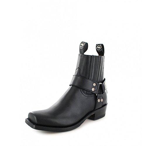 Sendra Boots 8286, Stivali da motociclista unisex adulto Nero (Pull Negro)