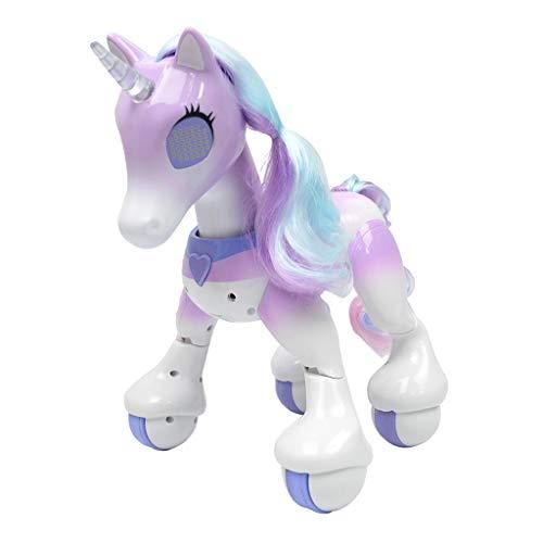 Kesoto Robot Toys for Kids, Smart Interactive Unicorn/Cavallo Smart Remote Control Robot Giocattolo Educativo - Unicorno