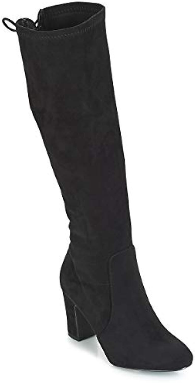 XTI 30954 Scarpe Donna Stivali Tacco Alto 8 cm con con con Laccetti Suede Nero   Lasciare Che Il Nostro Commodities Andare Per Il Mondo    Uomini/Donne Scarpa  2ff1bf