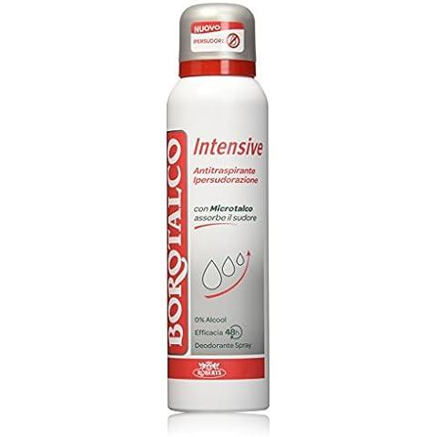 Borotalco Deodorante Spray, Intensive - 150