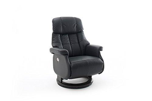 Robas Lund, Sessel, Relaxsessel, Calgary Comfort XL, Leder/schwarz, 86 x 82 x 111 cm, 64037SX5