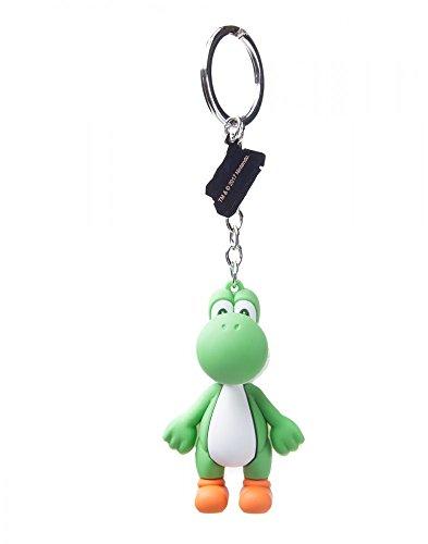 Nintendo - 3D Yoshi - Schlüsselanhänger | 100% Gummi | Offizielles Merchandise