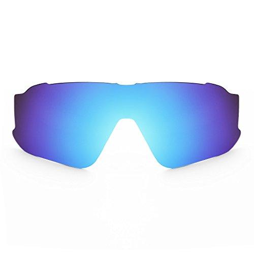 Revant Schutzglas für Oakley Jawbreaker Eisblau MirrorShield® Asian Fit