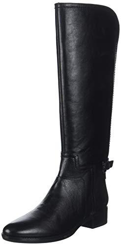 Geox Damen D Felicity B Hohe Stiefel, Schwarz (Black C9999), 36 EU