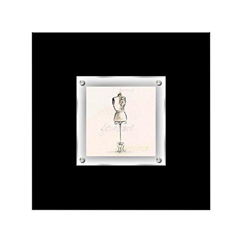 Protege Homeware Boudoir Mannequin gerahmt Art Wand -