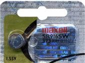 Maxell SR916SW SR68 SB-AJ SR916 373 Silver Oxide Watch Battery by Maxell